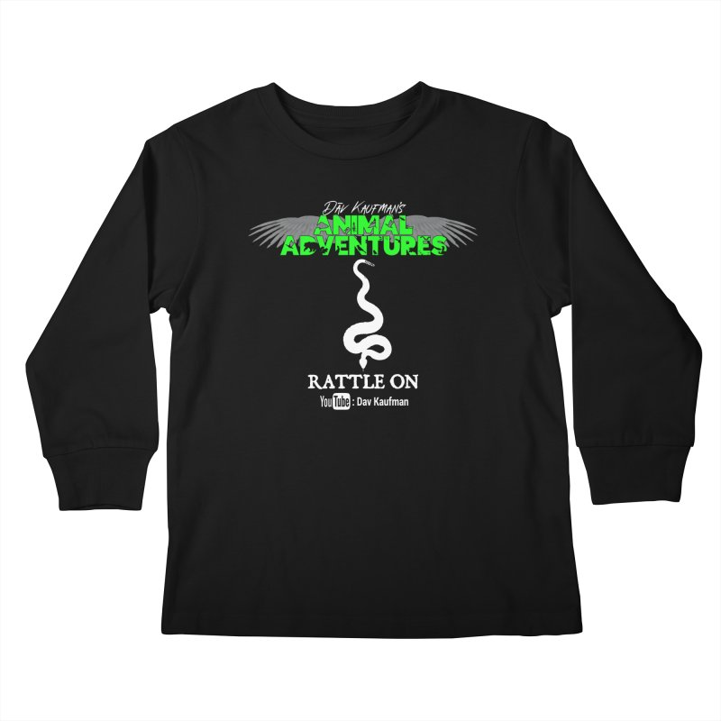 Animal Adventures Kids Longsleeve T-Shirt by Dav Kaufman's Swag Shop!