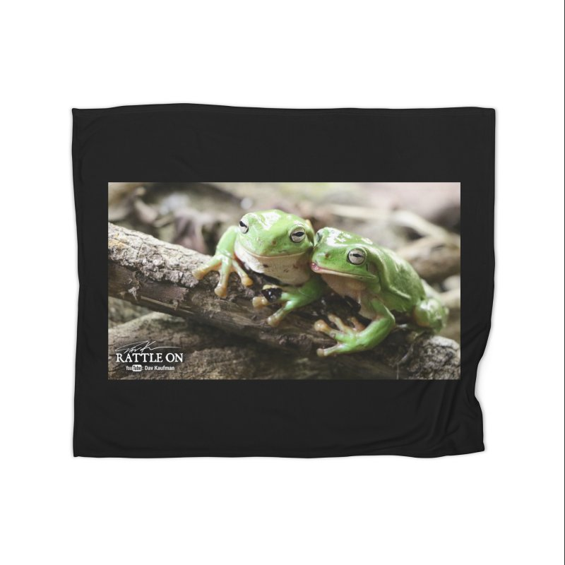 White's Tree Frogs Home Fleece Blanket Blanket by Dav Kaufman's Swag Shop!