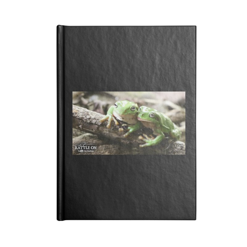 White's Tree Frogs Accessories Blank Journal Notebook by Dav Kaufman's Swag Shop!