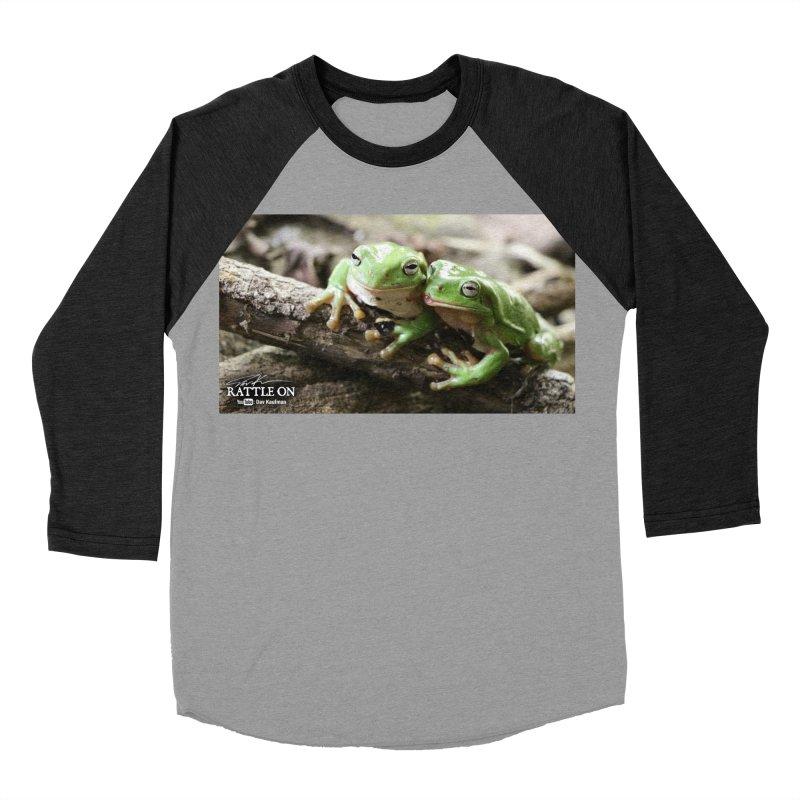 White's Tree Frogs Women's Baseball Triblend Longsleeve T-Shirt by Dav Kaufman's Swag Shop!