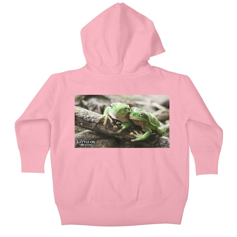 White's Tree Frogs Kids Baby Zip-Up Hoody by Dav Kaufman's Swag Shop!