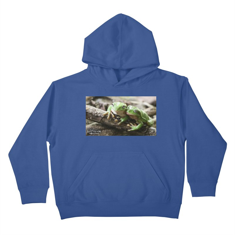 White's Tree Frogs Kids Pullover Hoody by Dav Kaufman's Swag Shop!