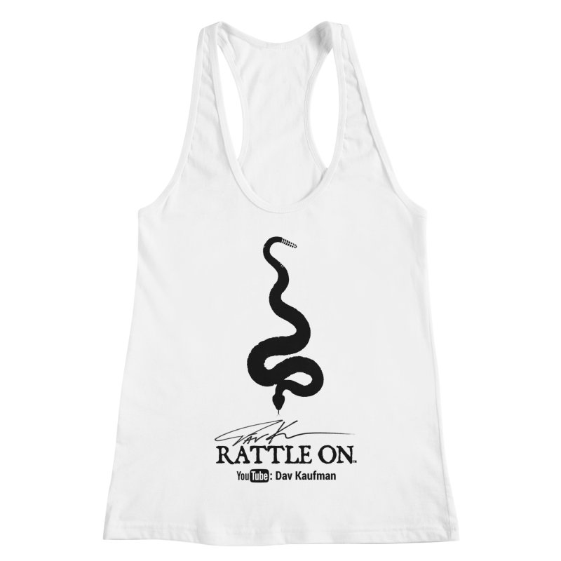 Black Rattle On Logo Women's Tank by Dav Kaufman's Swag Shop!