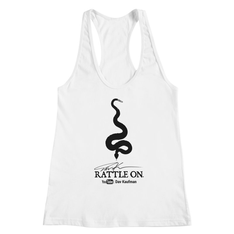 Black Rattle On Logo Women's Tank by Dav Kaufman's Swag Shop!