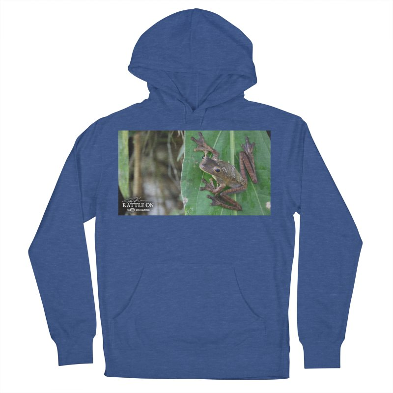 Map Frog 2 Men's Pullover Hoody by Dav Kaufman's Swag Shop!