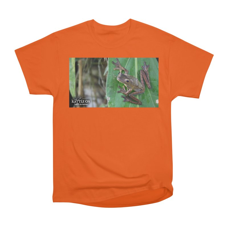 Map Frog 2 Men's T-Shirt by Dav Kaufman's Swag Shop!