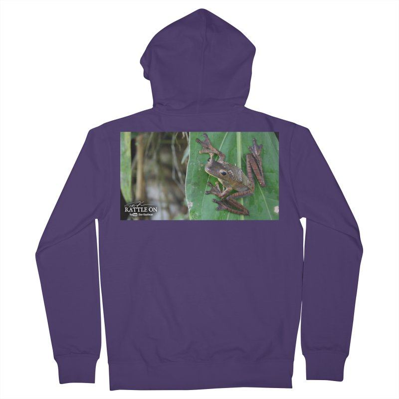 Map Frog 2 Women's Zip-Up Hoody by Dav Kaufman's Swag Shop!