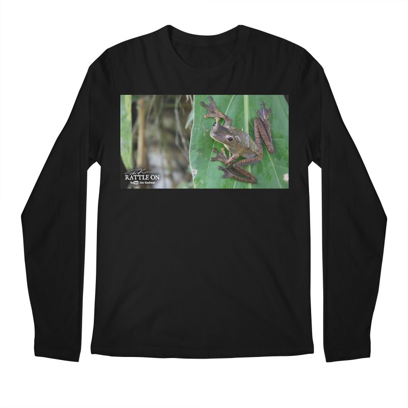 Map Frog 2 Men's Longsleeve T-Shirt by Dav Kaufman's Swag Shop!
