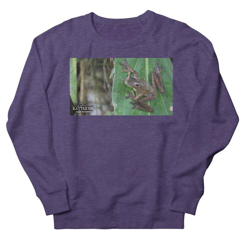 Map Frog 2 Women's Sweatshirt by Dav Kaufman's Swag Shop!