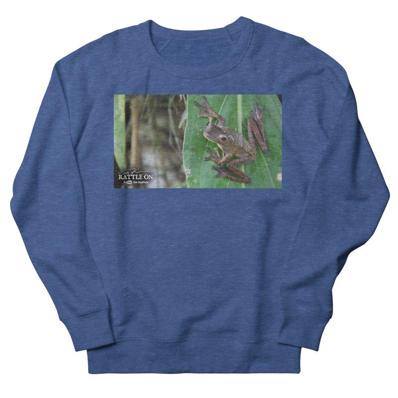 Map Frog 2 Men's Sweatshirt by Dav Kaufman's Swag Shop!