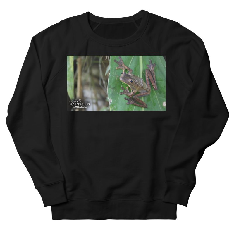 Map Frog 2 Men's Sweatshirt by Dav Kaufman's Swag Shop!