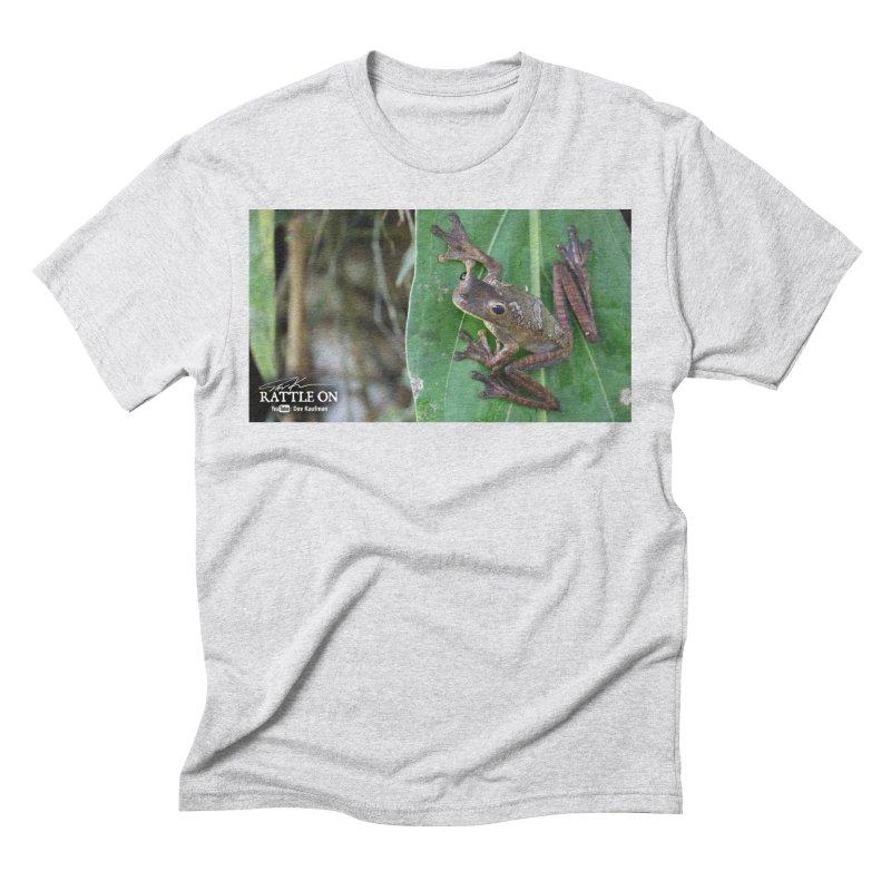 Map Frog 2 Men's Triblend T-Shirt by Dav Kaufman's Swag Shop!