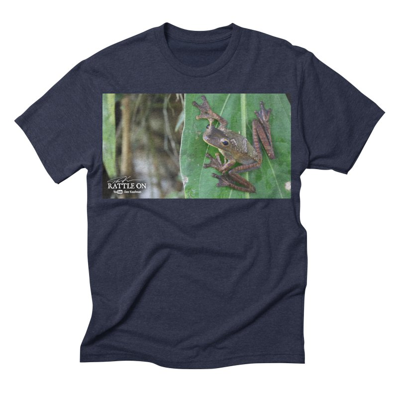 Map Frog 2 Men's Triblend T-shirt by Dav Kaufman's Swag Shop!