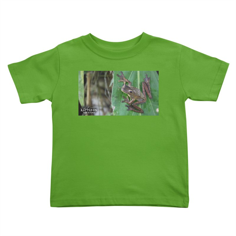 Map Frog 2 Kids Toddler T-Shirt by Dav Kaufman's Swag Shop!