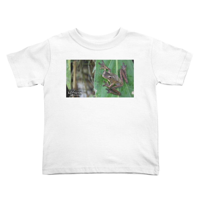 Map Frog 2 Kids Toddler T-Shirt by Dav Kaufman's Swag Shop!