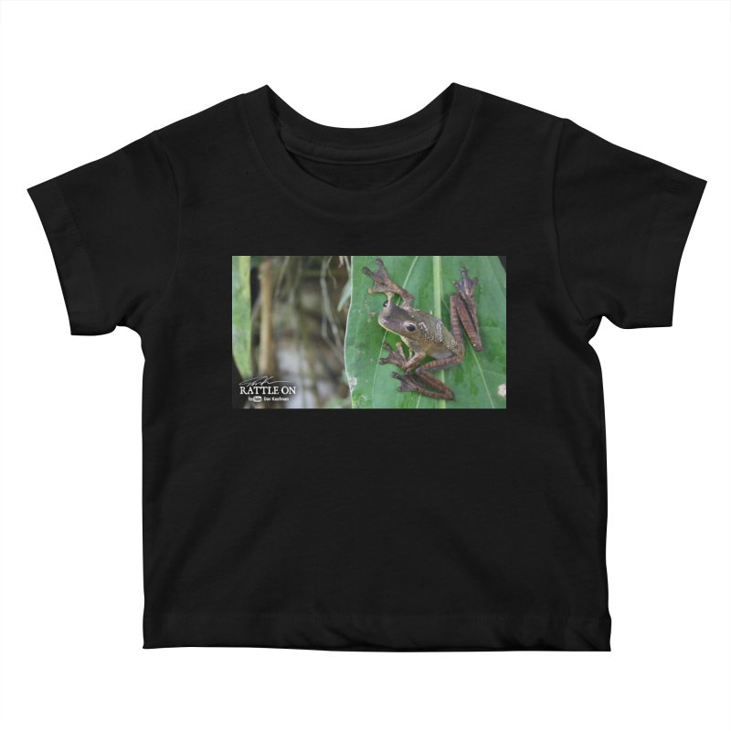 Map Frog 2 Kids Baby T-Shirt by Dav Kaufman's Swag Shop!