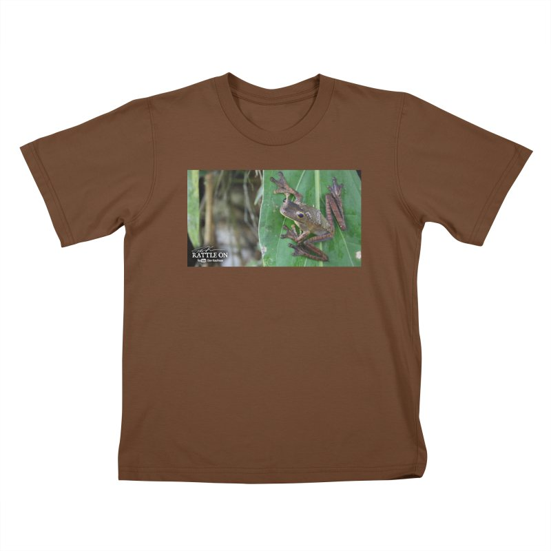 Map Frog 2 Kids T-Shirt by Dav Kaufman's Swag Shop!
