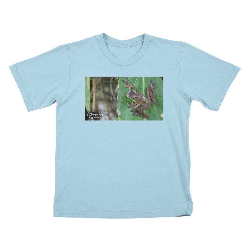 Map Frog 2 Kids T-shirt by Dav Kaufman's Swag Shop!