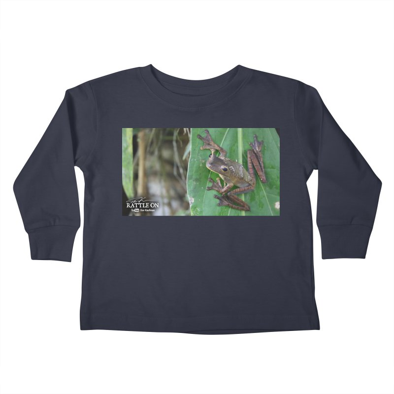 Map Frog 2 Kids Toddler Longsleeve T-Shirt by Dav Kaufman's Swag Shop!