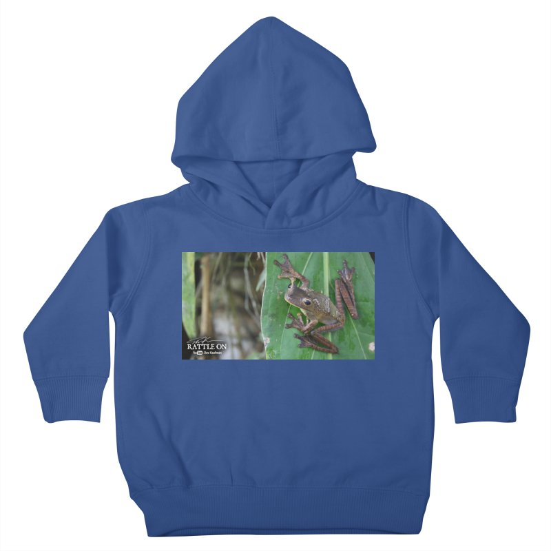 Map Frog 2 Kids Toddler Pullover Hoody by Dav Kaufman's Swag Shop!