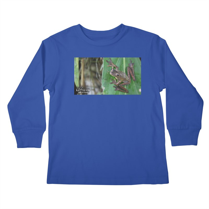 Map Frog 2 Kids Longsleeve T-Shirt by Dav Kaufman's Swag Shop!