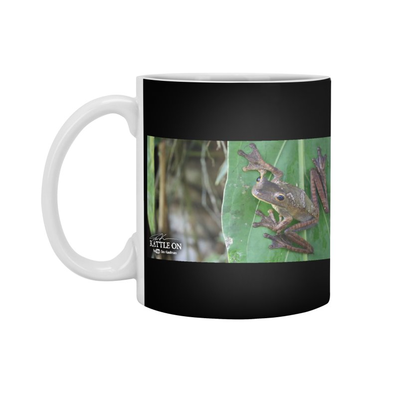 Map Frog 2 Accessories Mug by Dav Kaufman's Swag Shop!
