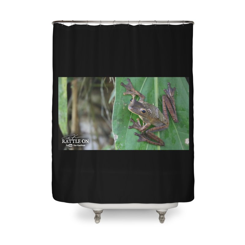 Map Frog 2 Home Shower Curtain by Dav Kaufman's Swag Shop!