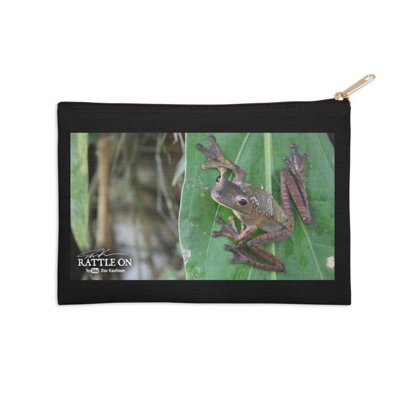 Map Frog 2 Accessories Zip Pouch by Dav Kaufman's Swag Shop!