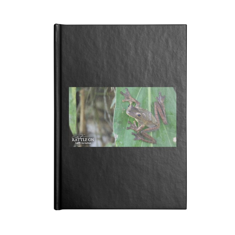 Map Frog 2 Accessories Blank Journal Notebook by Dav Kaufman's Swag Shop!