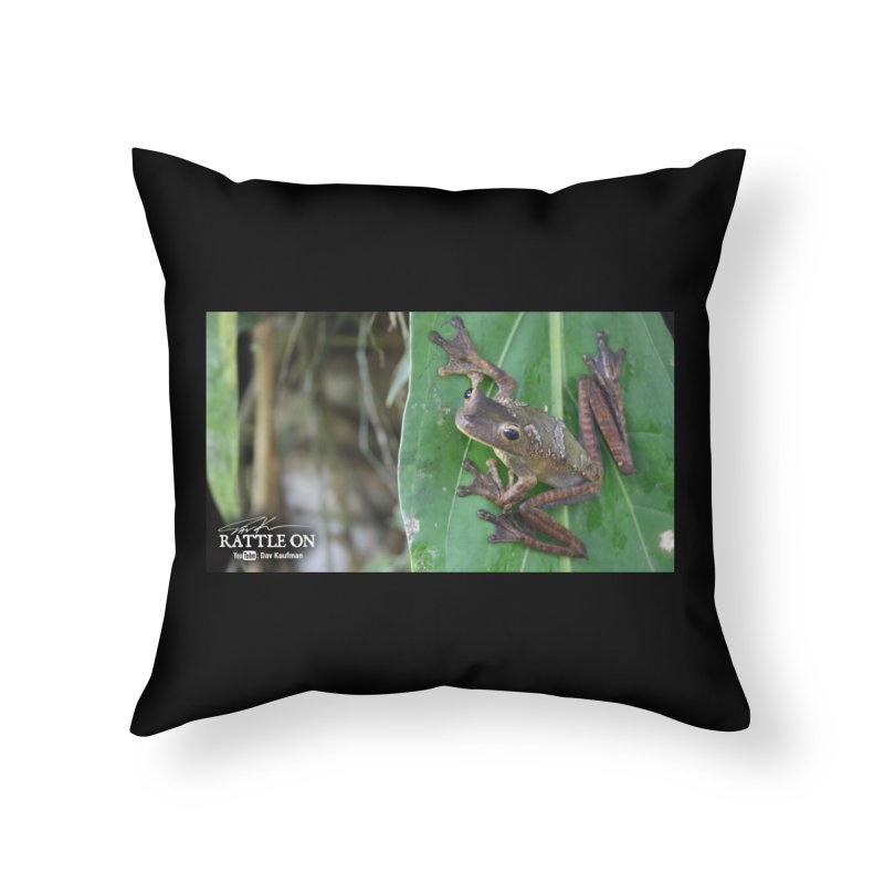 Map Frog 2 Home Throw Pillow by Dav Kaufman's Swag Shop!