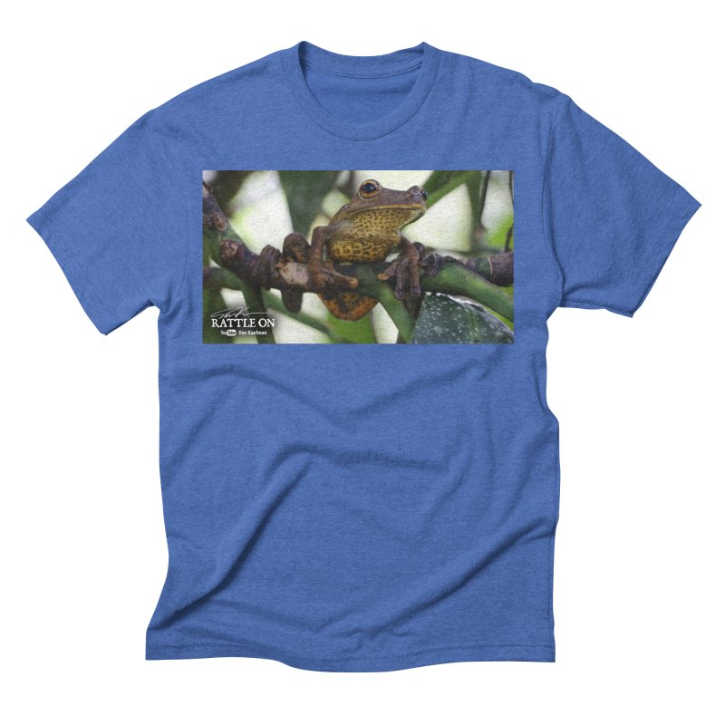 Map Frog Men's T-Shirt by Dav Kaufman's Swag Shop!