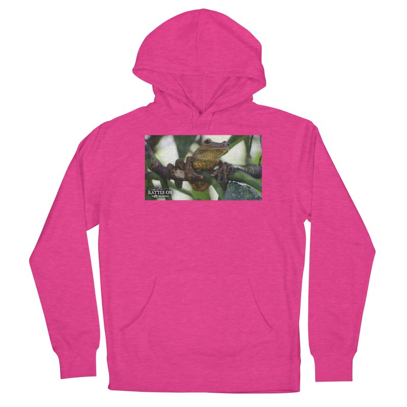 Map Frog Women's French Terry Pullover Hoody by Dav Kaufman's Swag Shop!