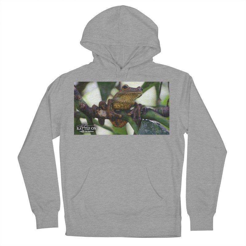 Map Frog Men's Pullover Hoody by Dav Kaufman's Swag Shop!