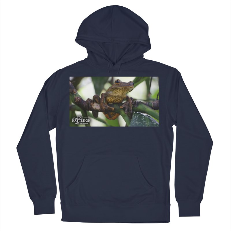 Map Frog Men's French Terry Pullover Hoody by Dav Kaufman's Swag Shop!