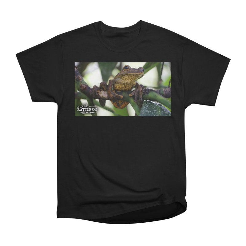 Map Frog Men's Heavyweight T-Shirt by Dav Kaufman's Swag Shop!