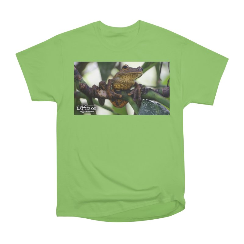 Map Frog Men's Heavyweight T-Shirt by Dav Kaufman's Swag Shop!