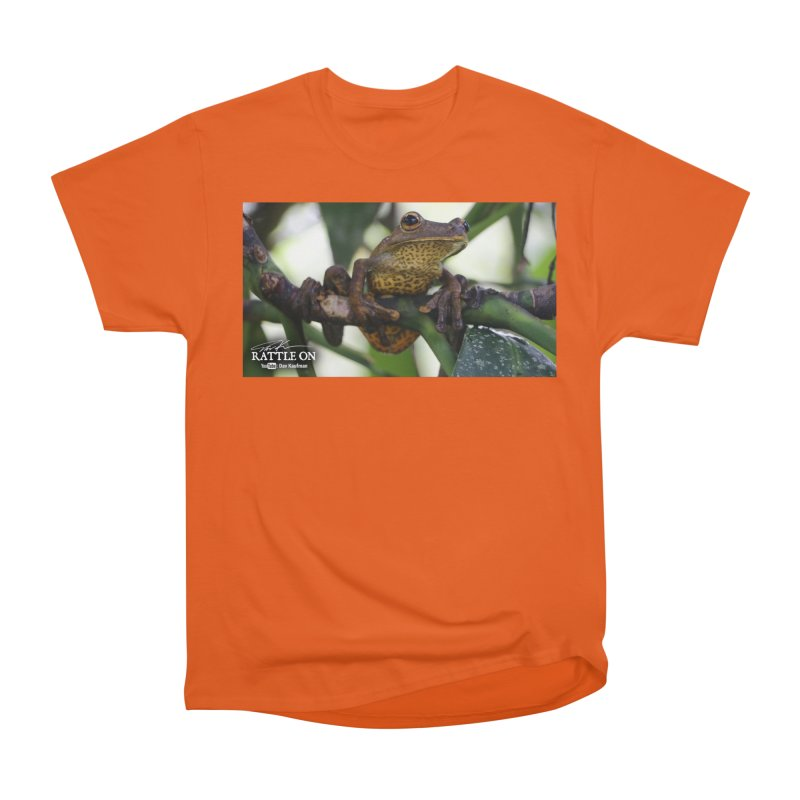 Map Frog Women's Heavyweight Unisex T-Shirt by Dav Kaufman's Swag Shop!