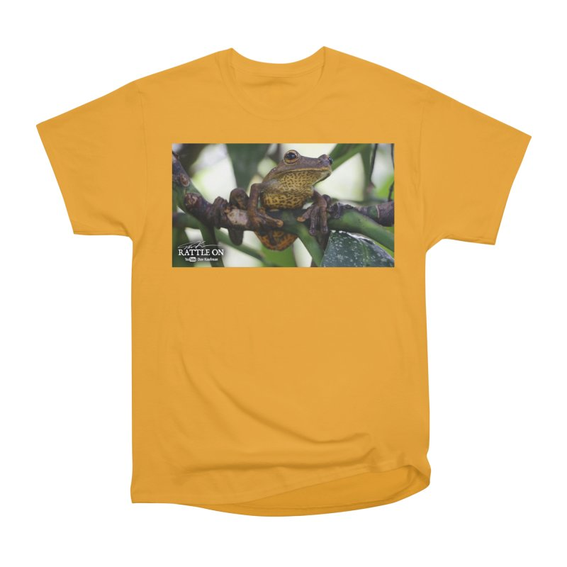 Map Frog Men's T-Shirt by Dav Kaufman's Swag Shop!
