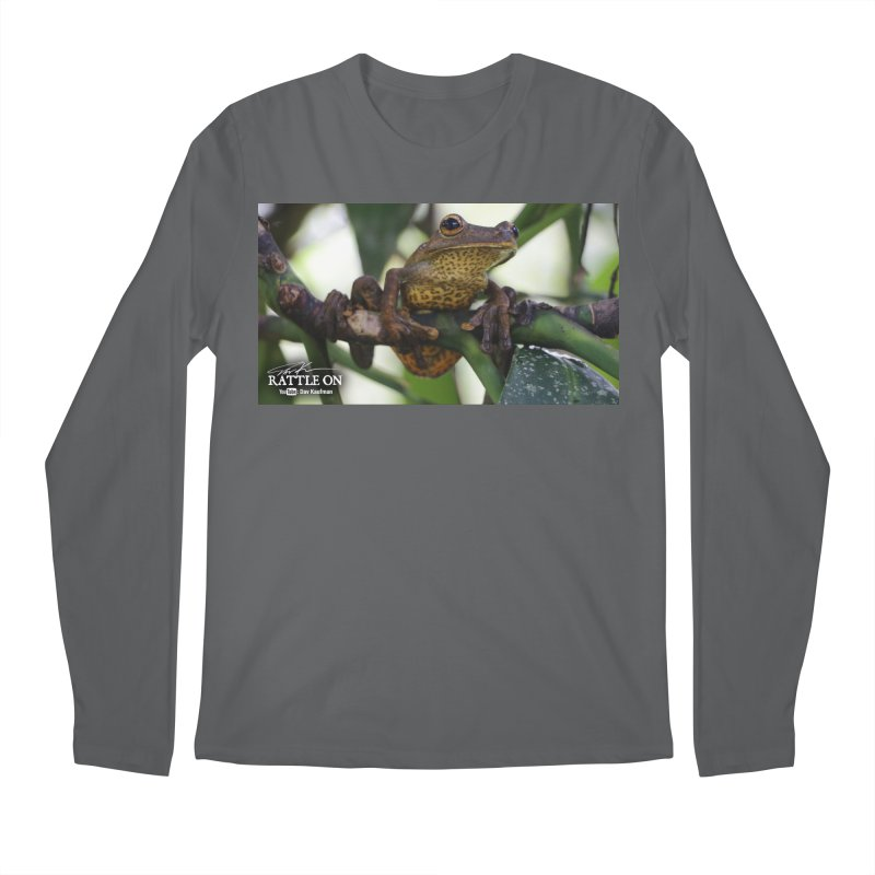Map Frog Men's Longsleeve T-Shirt by Dav Kaufman's Swag Shop!