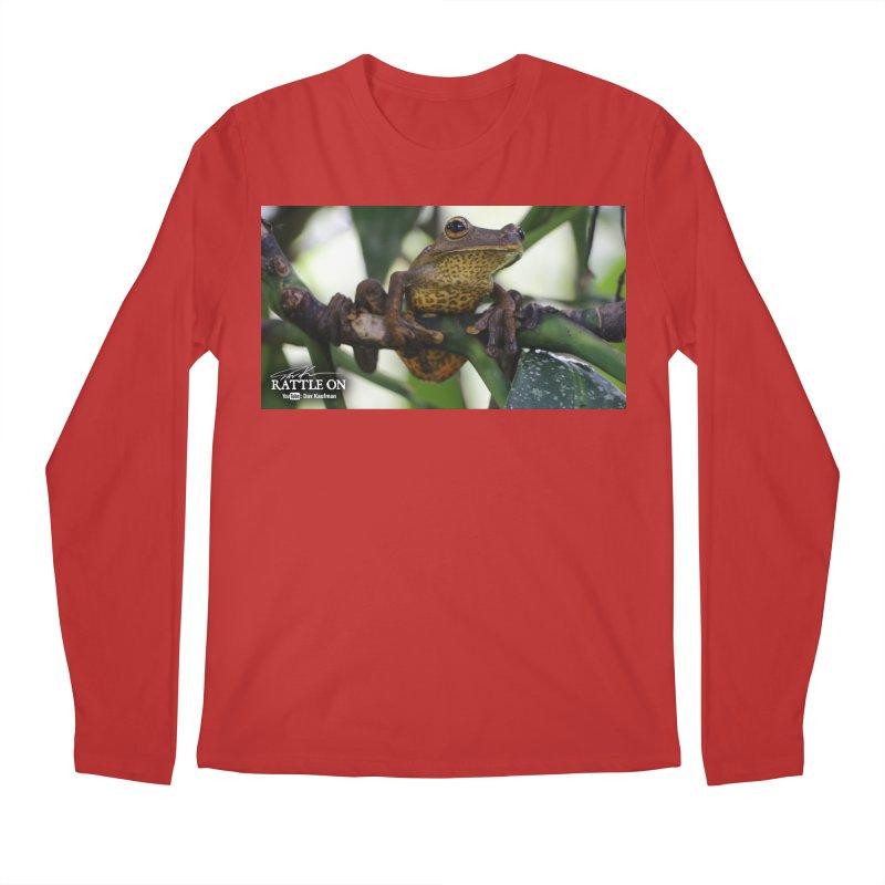 Map Frog Men's Longsleeve T-Shirt by Dav Kaufman's Swag Shop!