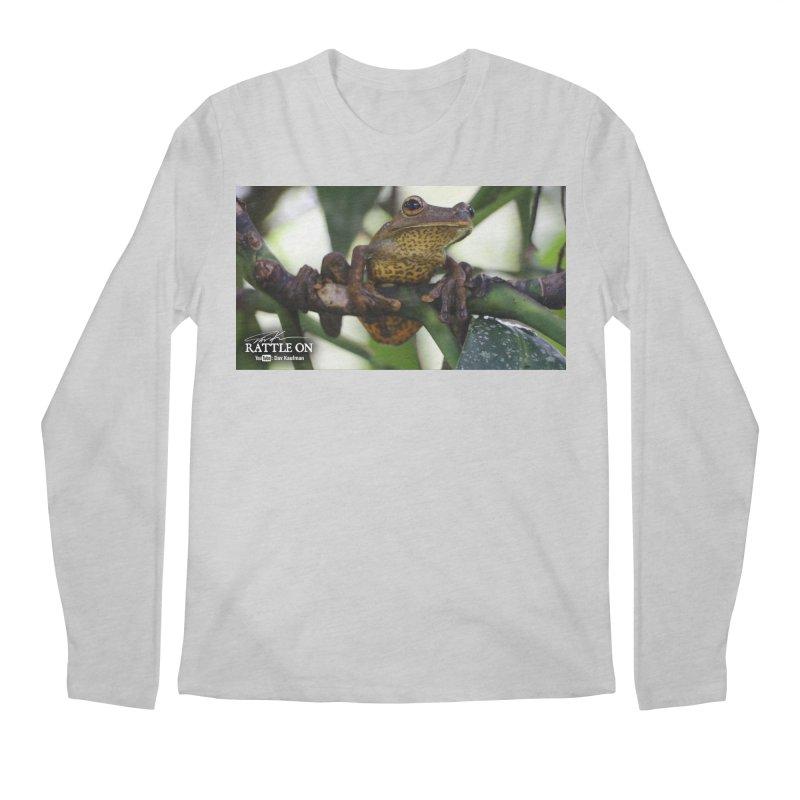 Map Frog Men's Regular Longsleeve T-Shirt by Dav Kaufman's Swag Shop!