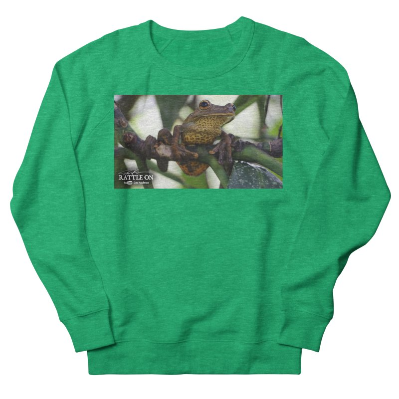 Map Frog Women's Sweatshirt by Dav Kaufman's Swag Shop!