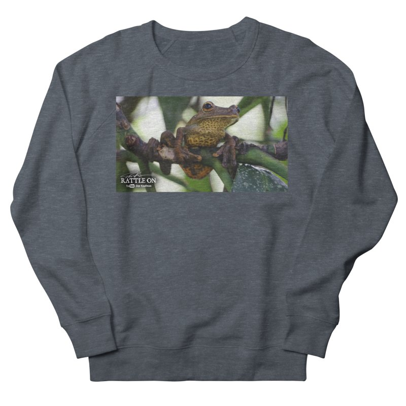 Map Frog Women's French Terry Sweatshirt by Dav Kaufman's Swag Shop!