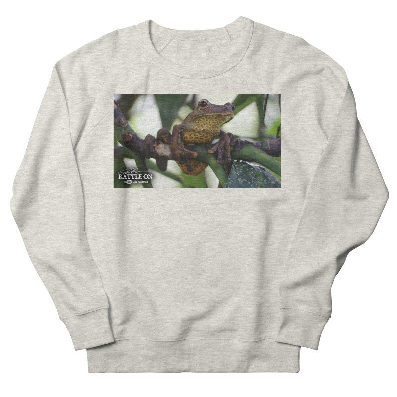 Map Frog Women's French Terry Sweatshirt by Dav Kaufman's Swag Shop!