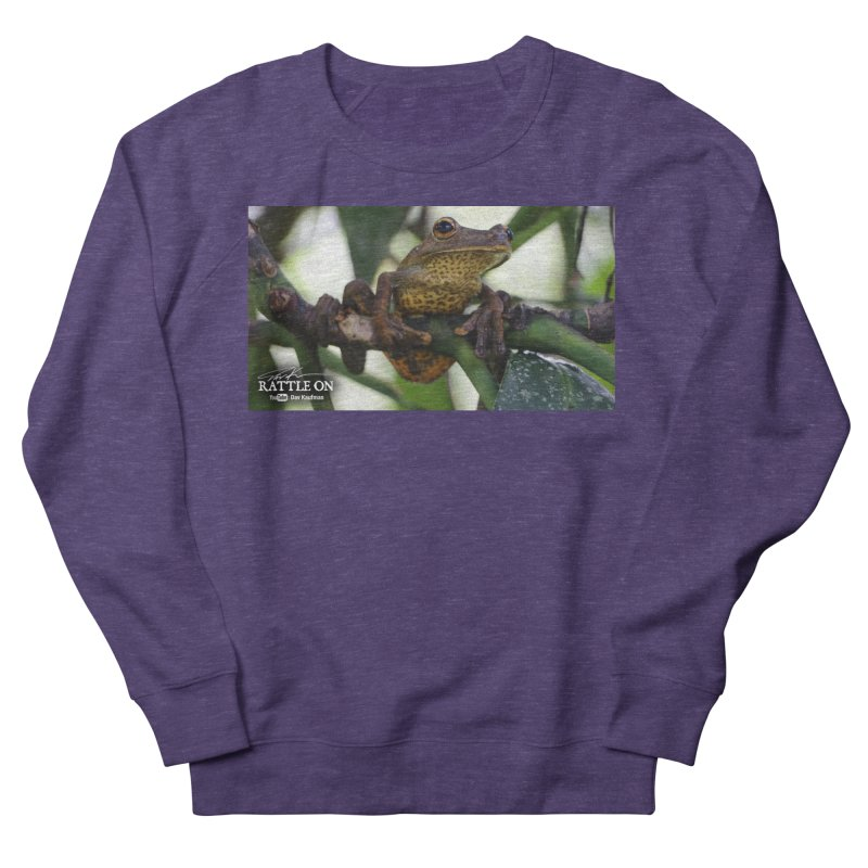 Map Frog Men's French Terry Sweatshirt by Dav Kaufman's Swag Shop!