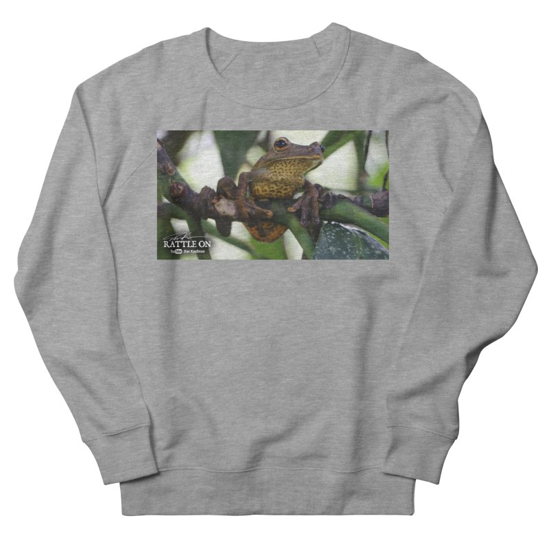 Map Frog Men's Sweatshirt by Dav Kaufman's Swag Shop!