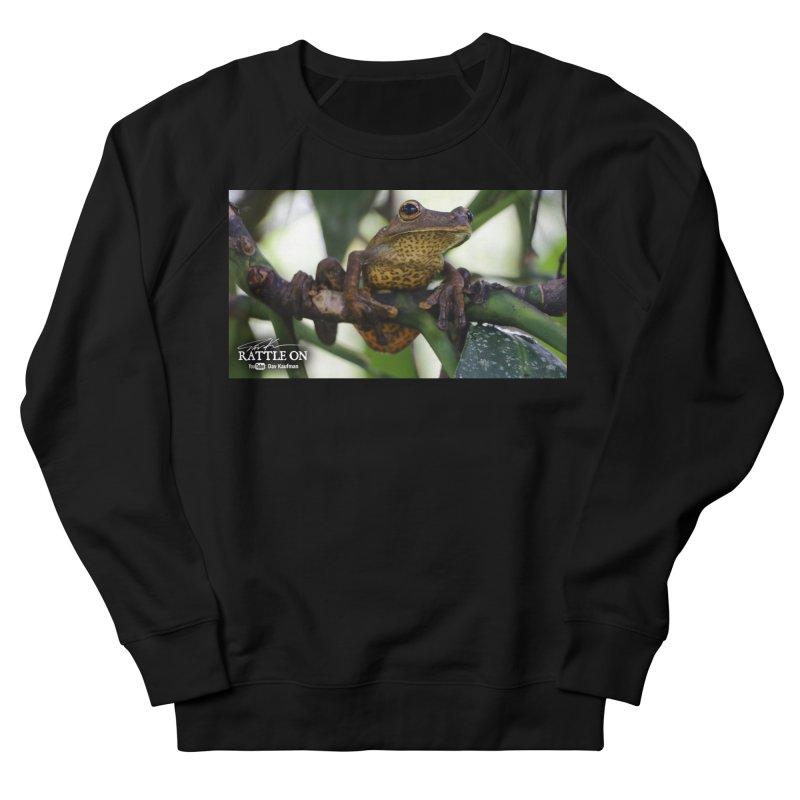 Map Frog Men's French Terry Sweatshirt by Dav Kaufman's Swag Shop!
