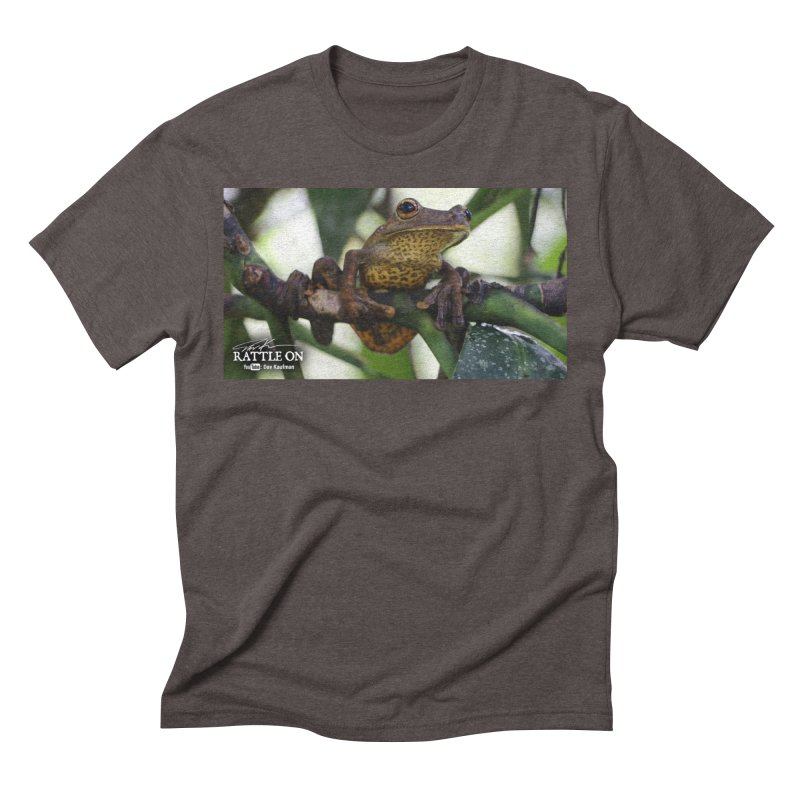 Map Frog Men's Triblend T-Shirt by Dav Kaufman's Swag Shop!