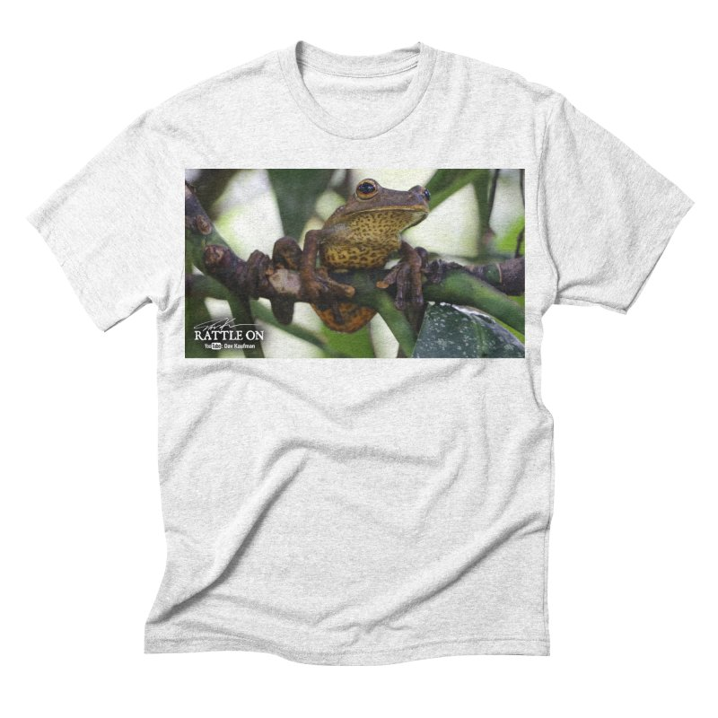 Map Frog Men's Triblend T-shirt by Dav Kaufman's Swag Shop!
