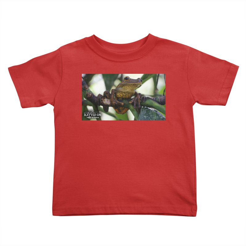Map Frog Kids Toddler T-Shirt by Dav Kaufman's Swag Shop!